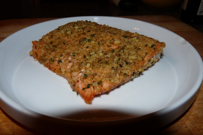 Honey Mustard Salmon Fillet
